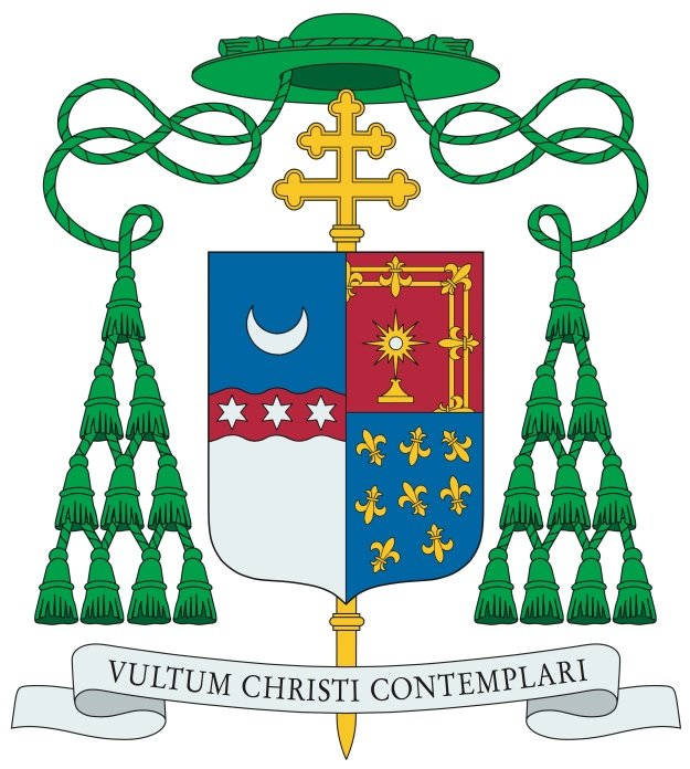 Coat of Arms of Archbishop Alexander Sample of Portland, OR