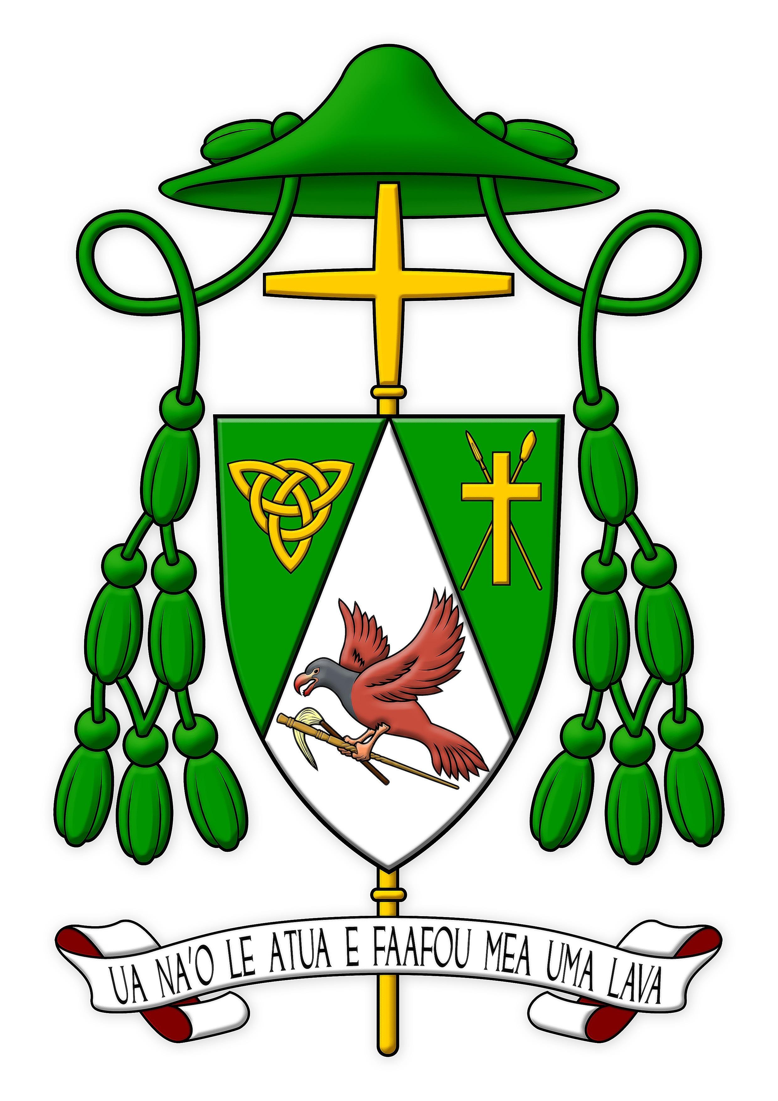 Bishop peter brown cssr of samoa pago pago exarandorum image m4hsunfo